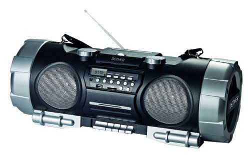 boombox ghettoblaster cd player radio mp3 usb sd aux. Black Bedroom Furniture Sets. Home Design Ideas