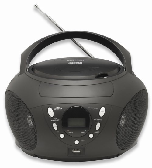 radio cd player mit mp3 wiedergabe und usb anschluss. Black Bedroom Furniture Sets. Home Design Ideas