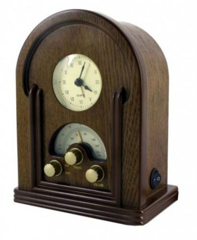 nostalgie radio mit uhr weckfunktion soundmaster nr350 eur 49 90 picclick at. Black Bedroom Furniture Sets. Home Design Ideas