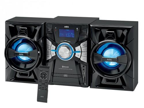 stereoanlage mit cd mp3 radio usb aux in und bluetooth. Black Bedroom Furniture Sets. Home Design Ideas