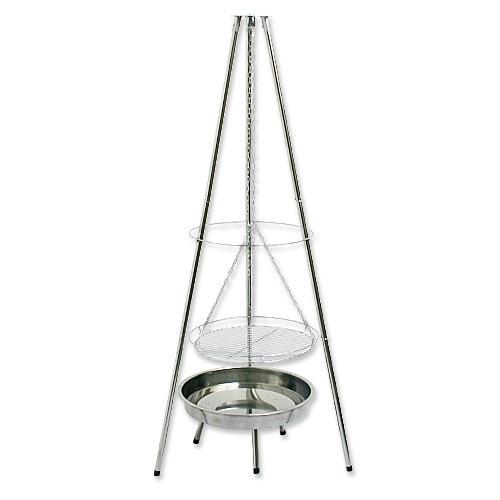 grill dreibein schwenkgrill holzkohlegrill edelstahl ebay. Black Bedroom Furniture Sets. Home Design Ideas