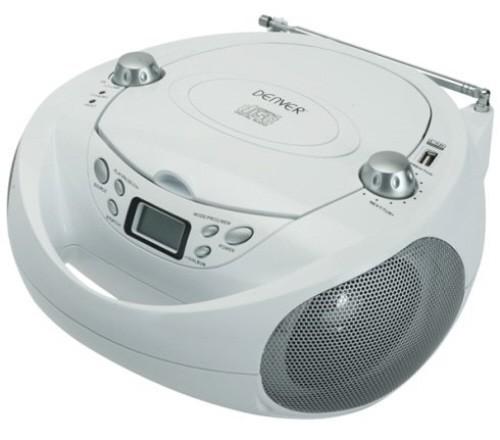 boombox mit cd player usb radio und aux denver tcu 205. Black Bedroom Furniture Sets. Home Design Ideas
